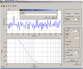 OpenPIV Spatial Toolbox Analysis software
